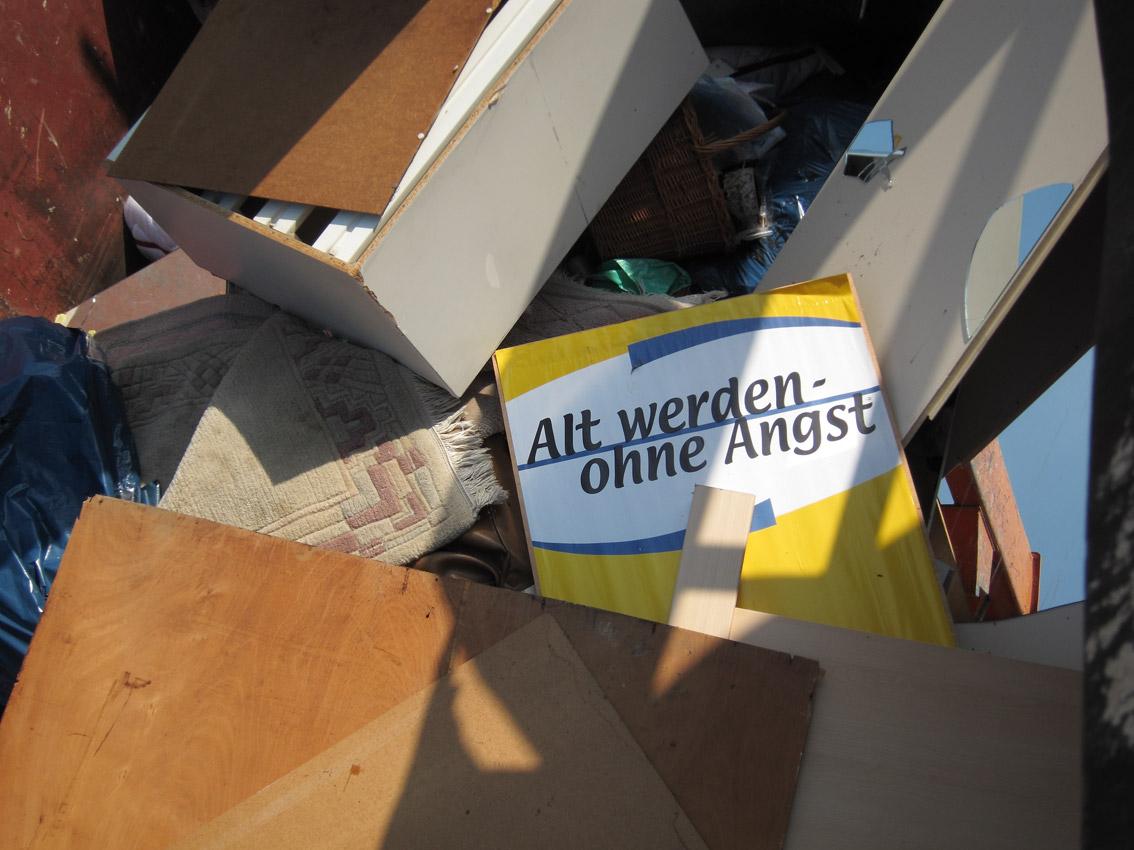 Alt werden ohne Angst, 2011