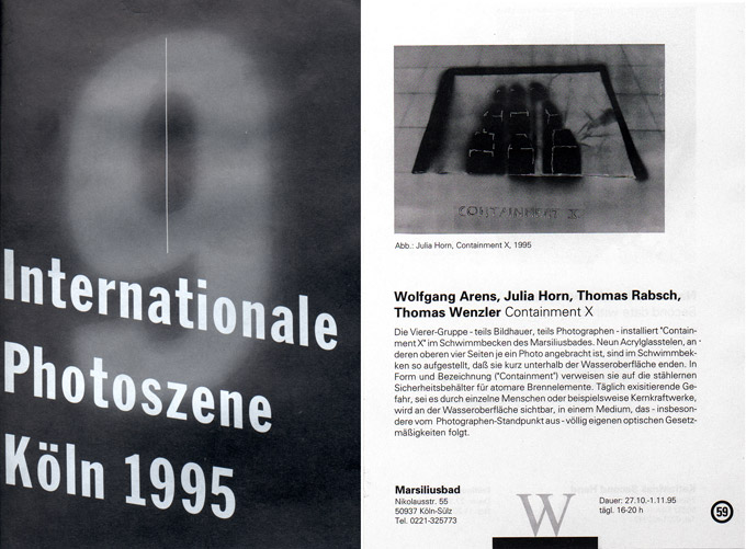 Katalog Photoszene, 1995