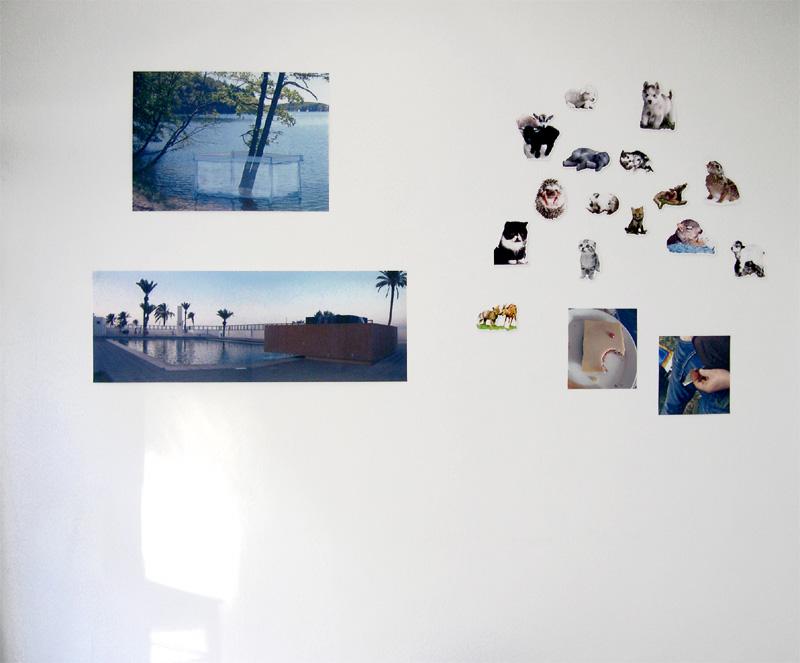 """Raumansicht 1, """"Obszönität des Süßen"""", 2005"""
